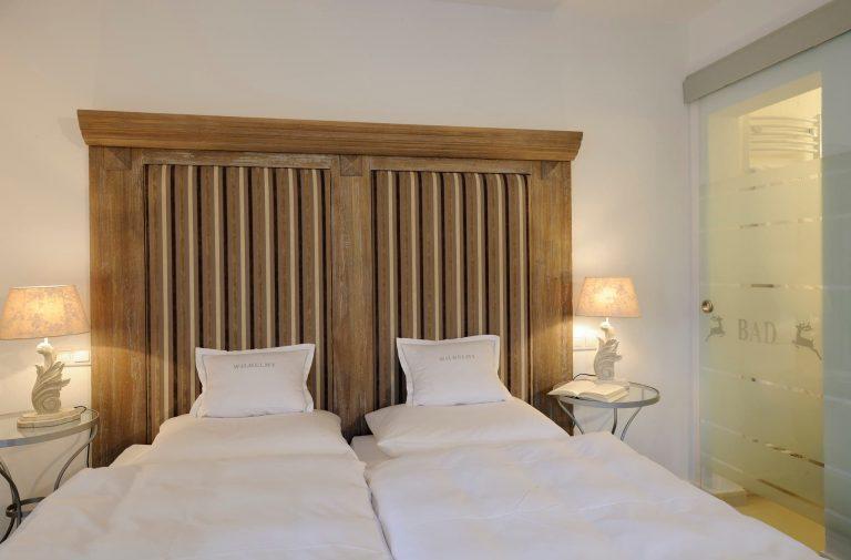Doppelbett Superior Zimmer Relais Chalet Wilhelmy