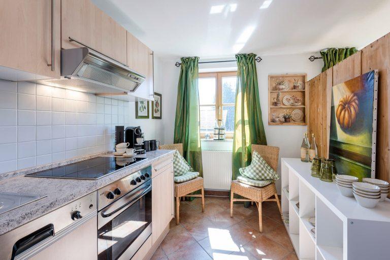 Dreiraum Appartement Suite Küche Relais Chalet Wilhelmy