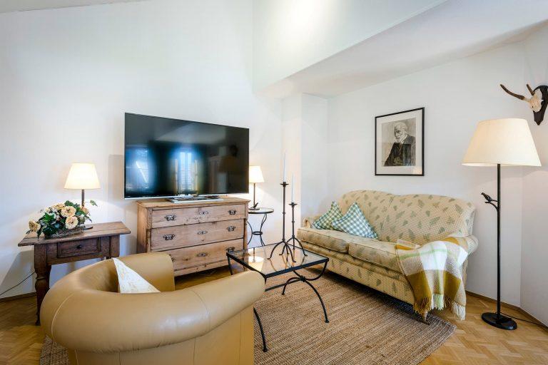 Dreiraum Appartement Suite Sofa Relais Chalet Wilhelmy