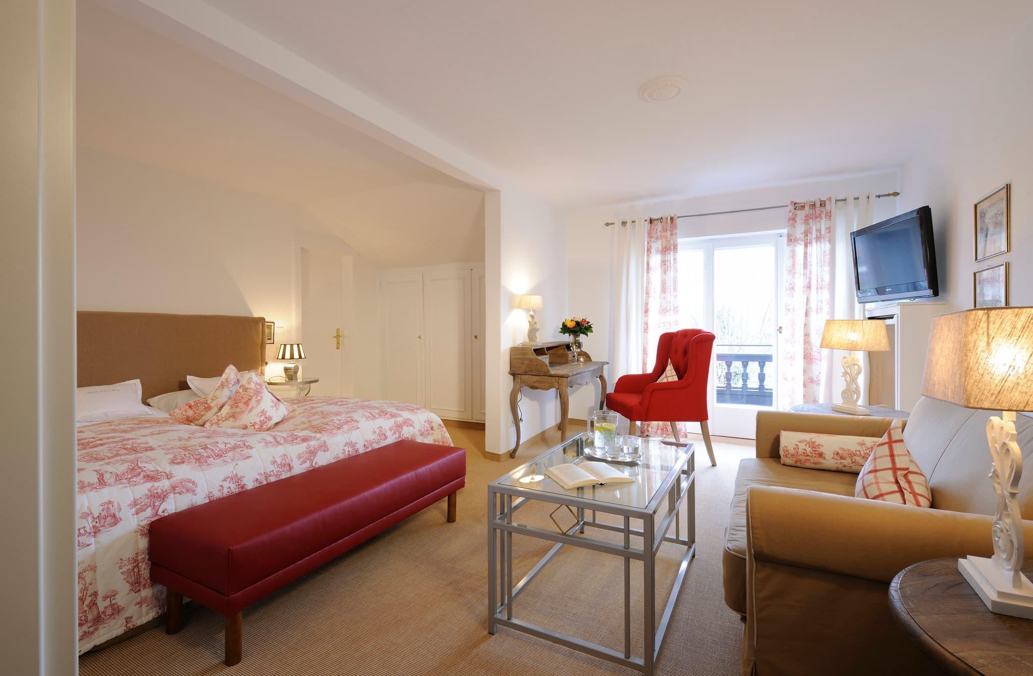 Komfort Doppelzimmer Relais Chalet Wilhelmy