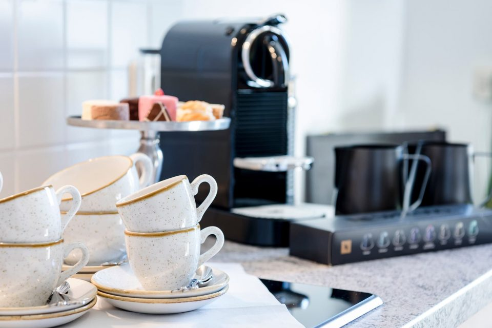 Tagungen und Seminare Kaffeemaschine Relais Chalet Wilhelmy