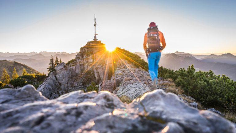 Wandern zum Wallberg am Tegernsee Relais Chalet Wilhelmy