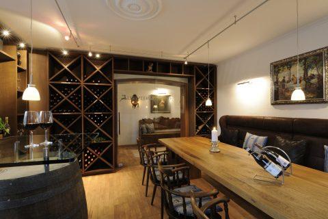 Weinerei Innenansicht-