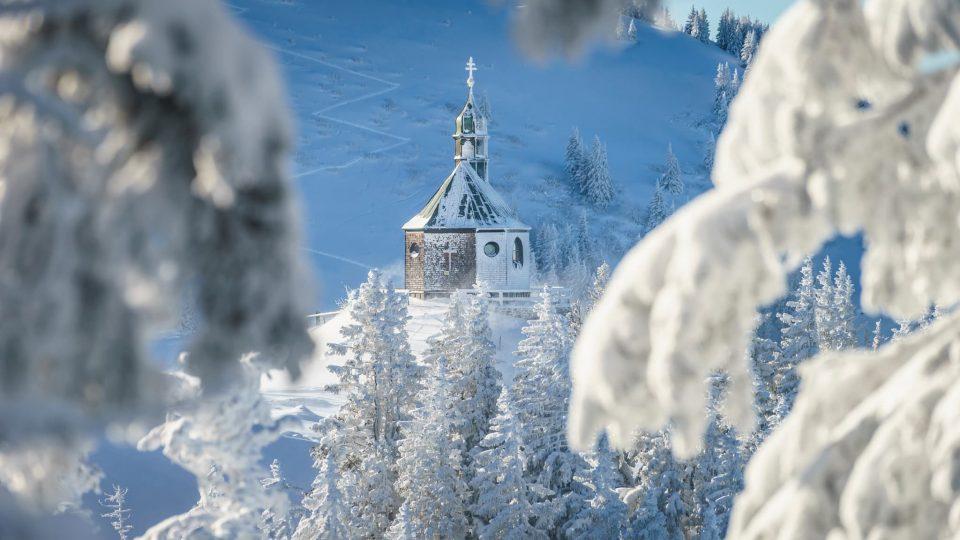 Winterlandschaft Relais Chalet Wilhelmy am Tegernsee
