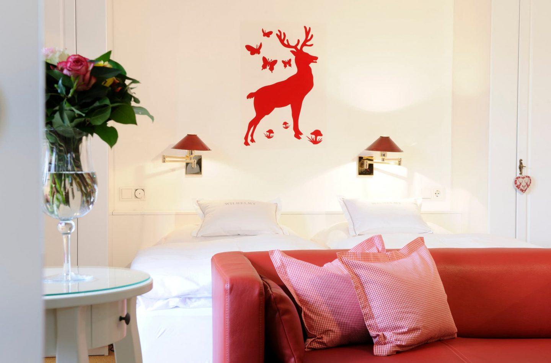 Wohnen Appartement Rote Hirsche Relais Chalet Wilhelmy