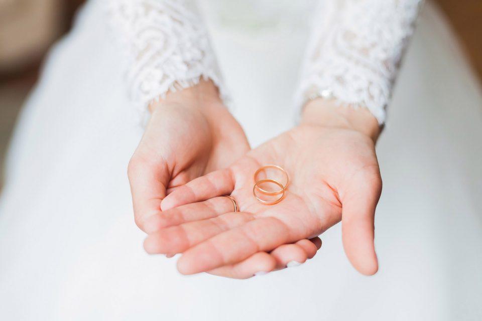 Heiraten im Relais Chalet Wilhelmy am Tegernsee Ringe