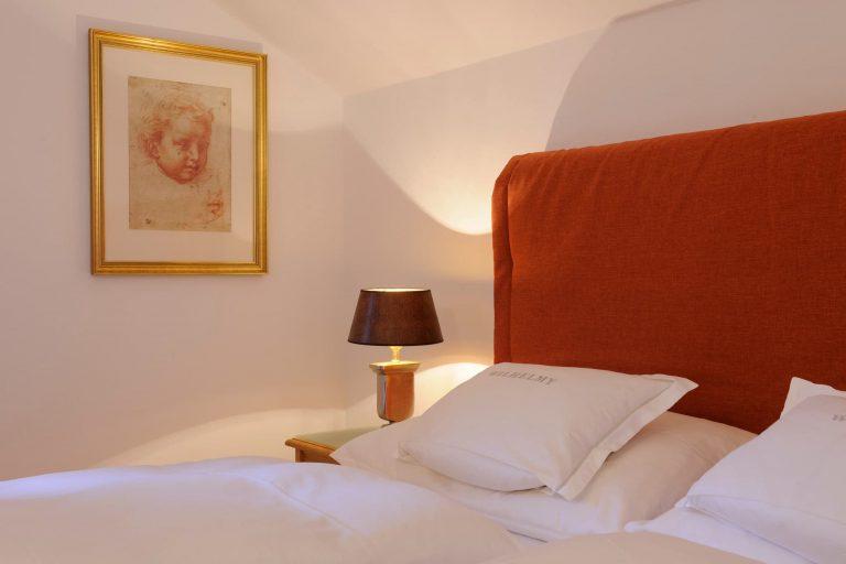 Kuschel Doppelzimmer Nachttischlampe Details Relais Chalet Wilhelmy